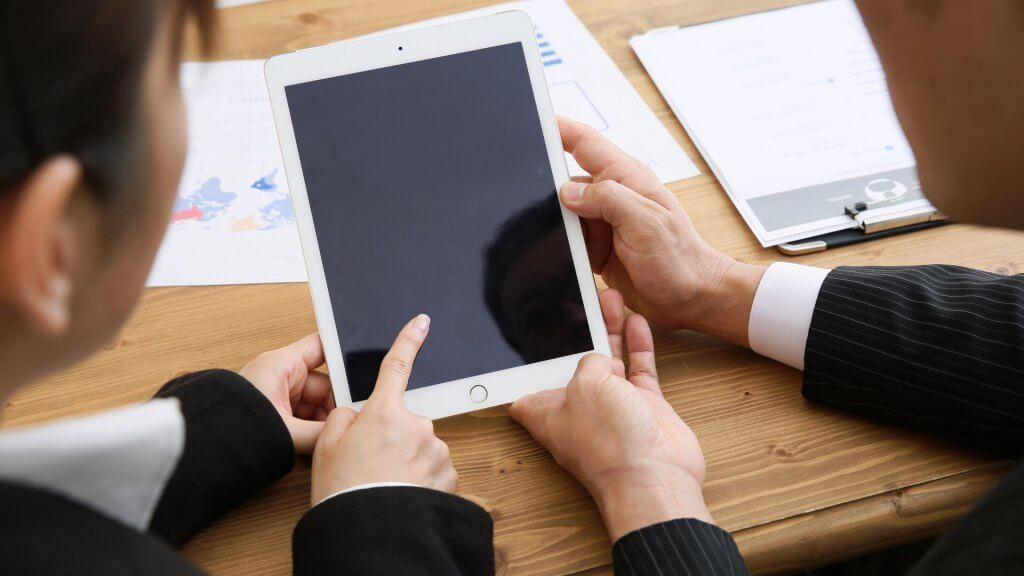 iPadで売り込まないセールスをする方法