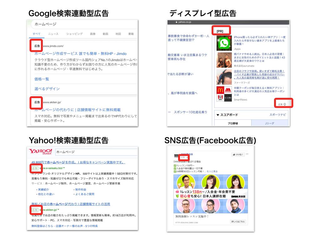 WEB広告例