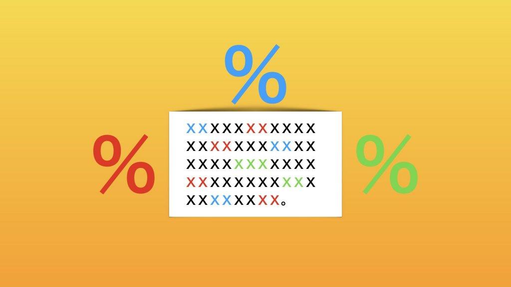 キーワード出現率調査結果