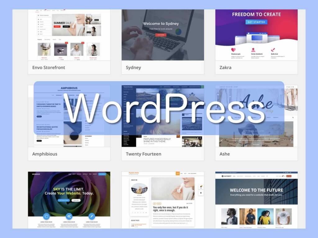 ホームページ自作ソフト簡単ツール:WordPress