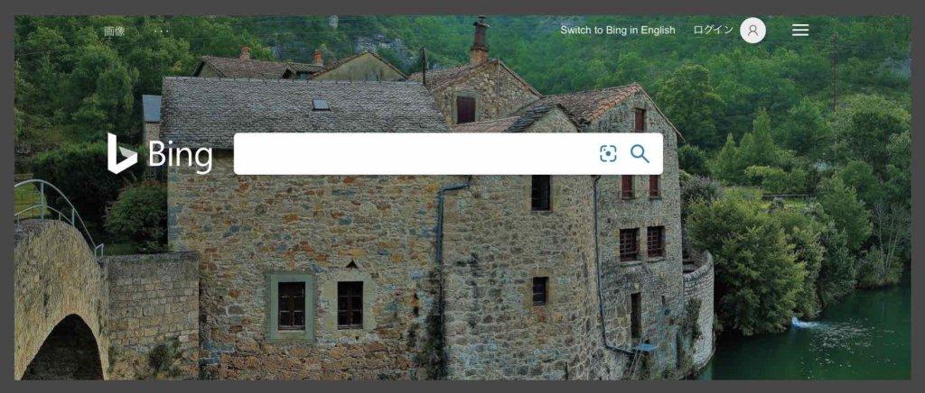 Bing検索エンジン