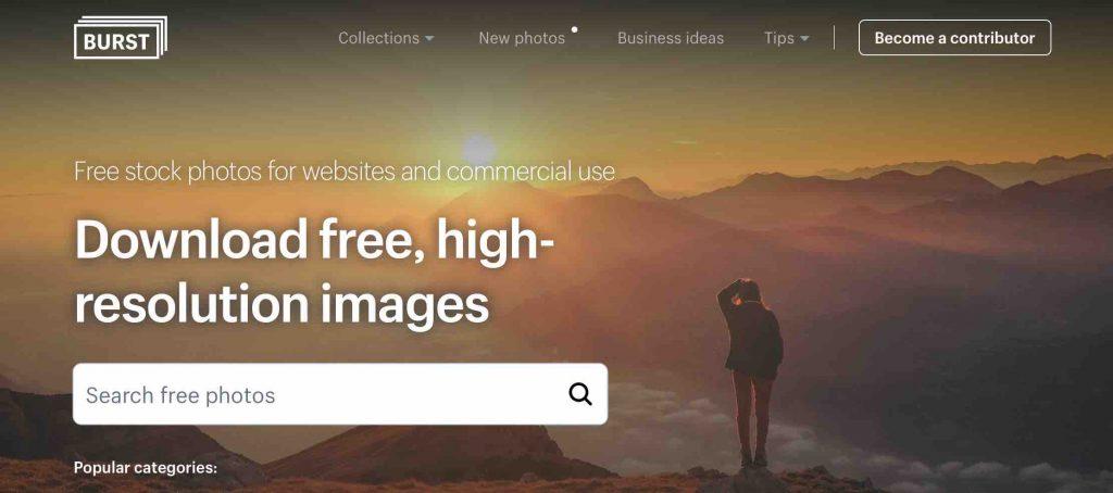 フリー画像素材サイト: BURST