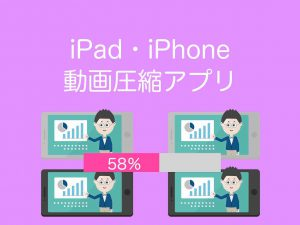 iPad,iPhone動画圧縮アプリ