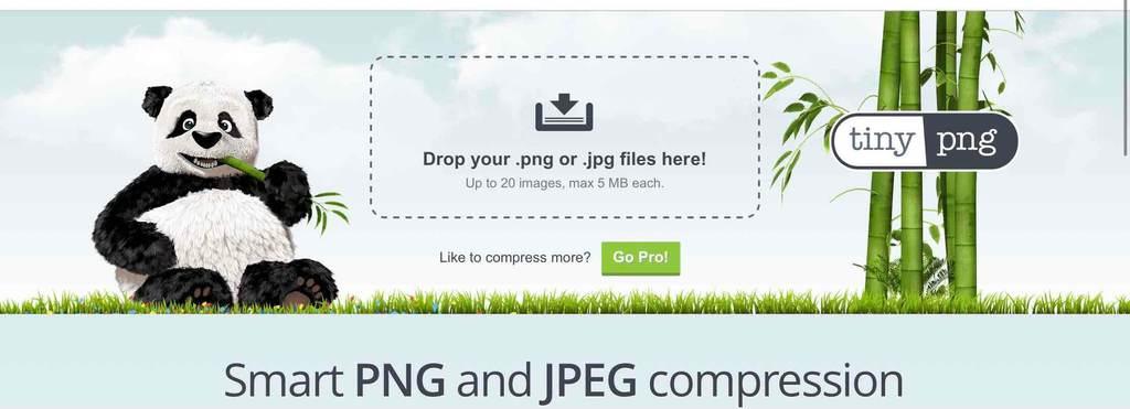 アクセス数を増やすためのページ表示速度向上につながる画像圧縮ツール「tinyping」