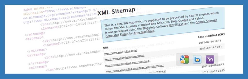 SEO対策として有効なXMLサイトマップのWordPressプラグイン「XML Site Maps」の公式サイト画像
