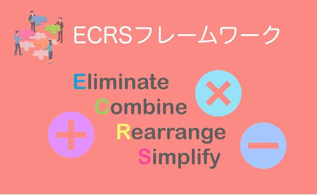 ECRS改善フレームワーク