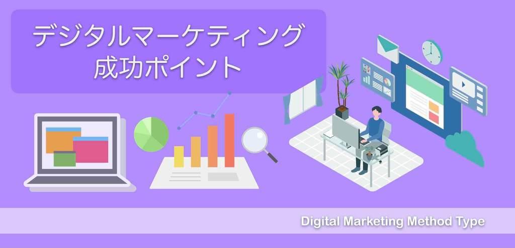デジタルマーケティング成功ポイント