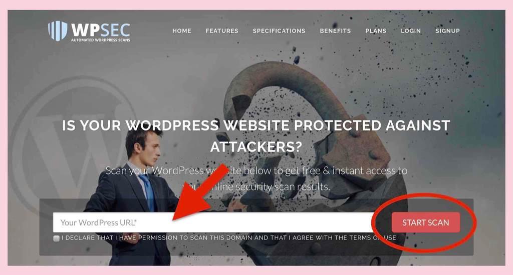 WPSEC.comのセキュリティチェック方法