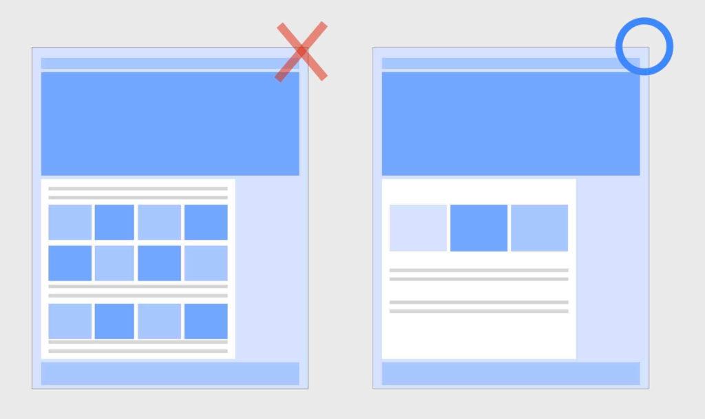 やってはいけないホームページトップページの構成